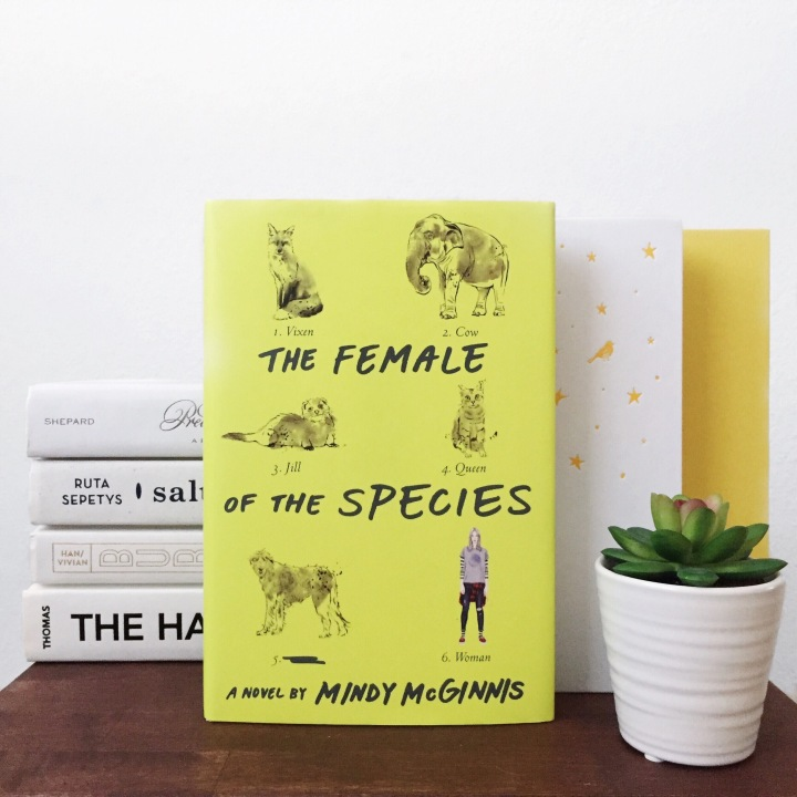 TBT: The Female of the Species by Mindy McGinnis